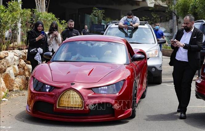 Liban giới thiệu mẫu xe điện đầu tiên