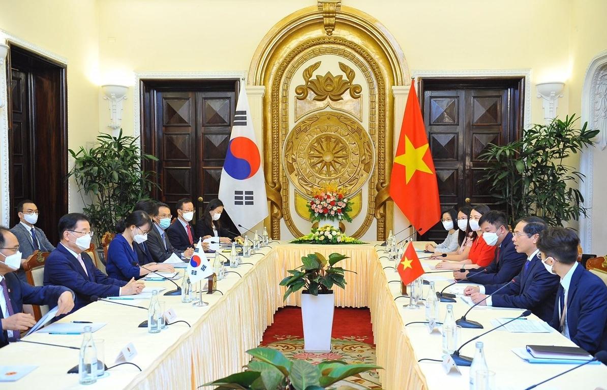 Việt Nam-Hàn Quốc hướng tới mục tiêu kim ngạch thương mại 100 tỷ USD