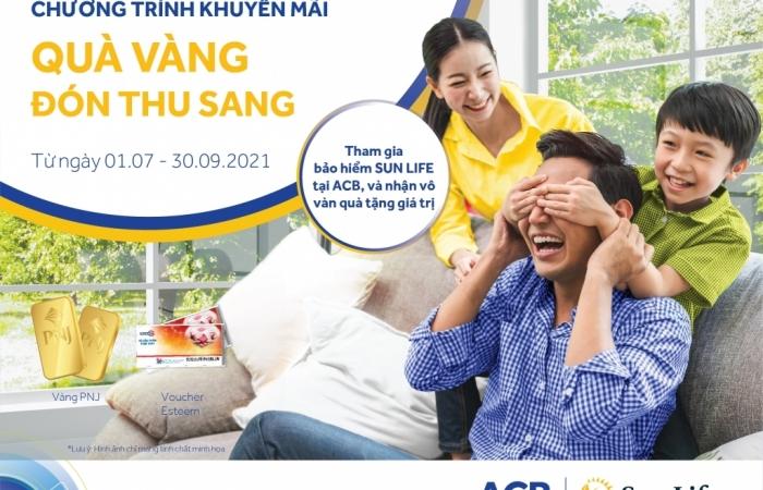 """Sun Life Việt Nam với chương trình """"Quà vàng đón thu sang"""""""
