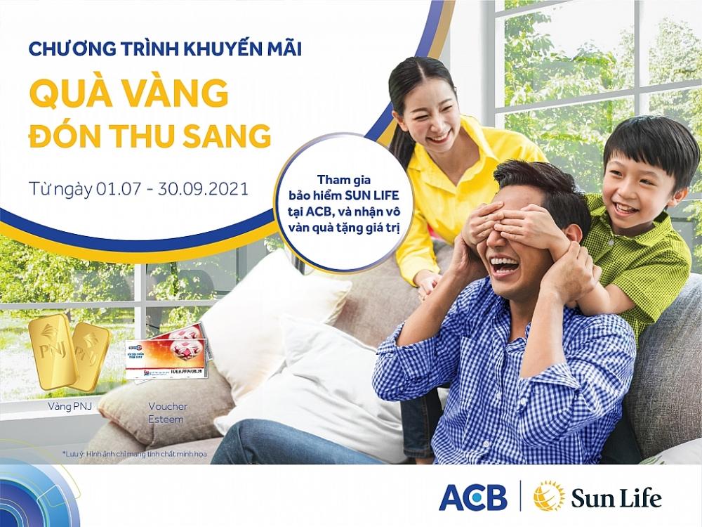 """""""Quà vàng đón thu sang"""" cùng Sun Life Việt Nam và ACB   Báo Công Thương"""