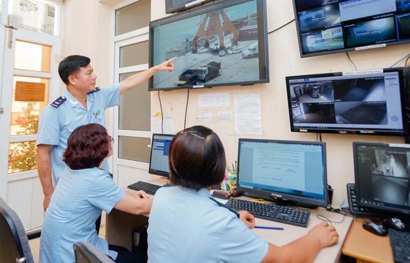Hệ thống Quản lý Hải quan tự động tại cảng Hòn Gai đang phát huy hiệu quả