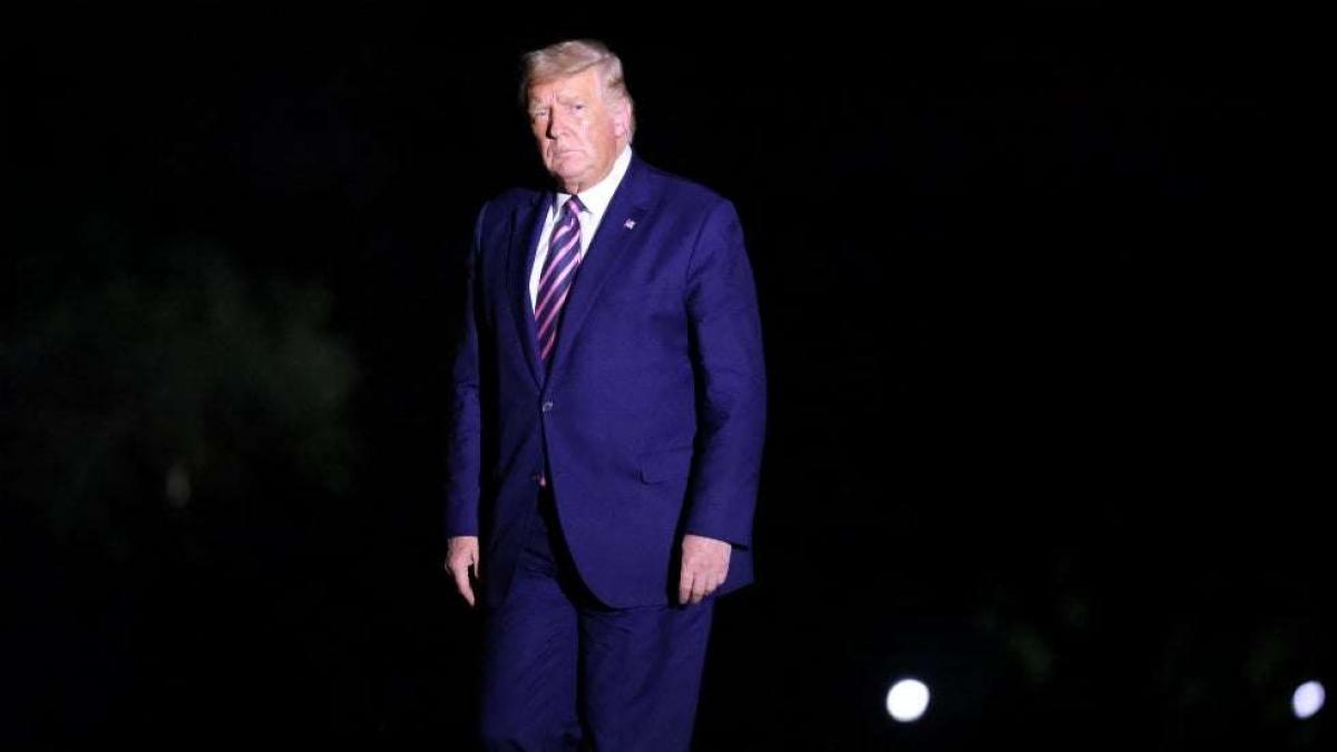 Tổng thống Mỹ Donald Trump. Ảnh: Getty
