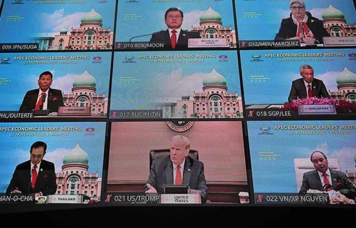 Các nhà lãnh đạo APEC kêu gọi thương mại tự do và cởi mở để thúc đẩy phục hồi kinh tế
