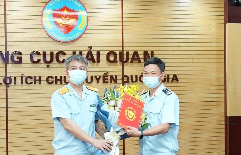 Ông Đào Duy Tám được bổ nhiệm làm Phó Cục trưởng Cục Giám sát quản lý về hải quan