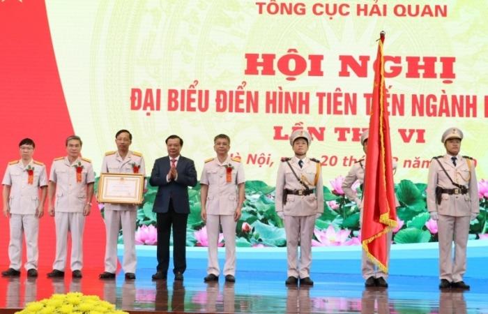 Tổng cục Hải quan vinh dự nhận Huân chương Lao động hạng Nhất