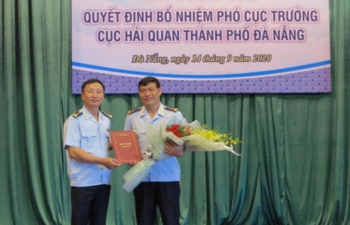 Hải quan Đà Nẵng có tân Phó Cục trưởng
