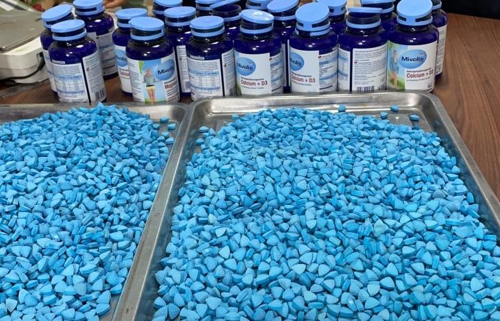 Hải quan Hà Nội triệt phá chuyên án thu giữ hơn 11kg ma túy tổng hợp