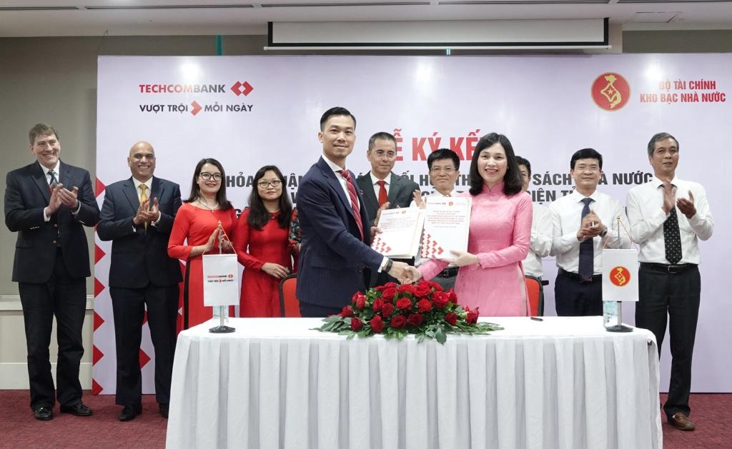 Thêm một ngân hàng thương mại cổ phần ký thoả thuận phối hợp thu với Kho bạc Nhà nước