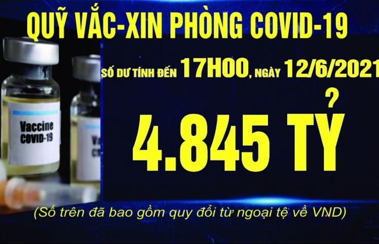 Đã có hơn 291 nghìn cá nhân, tổ chức ủng hộ Quỹ vắc xin phòng, chống Covid-19