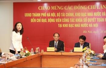 Kho bạc Nhà nước Hà Nội sẵn sàng để khóa sổ ngân sách những ngày cuối năm 2019