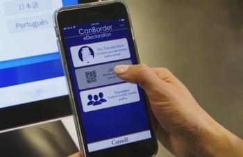 Hải quan Canada triển khai ứng dụng khai báo điện tử trên các thiết bị di động