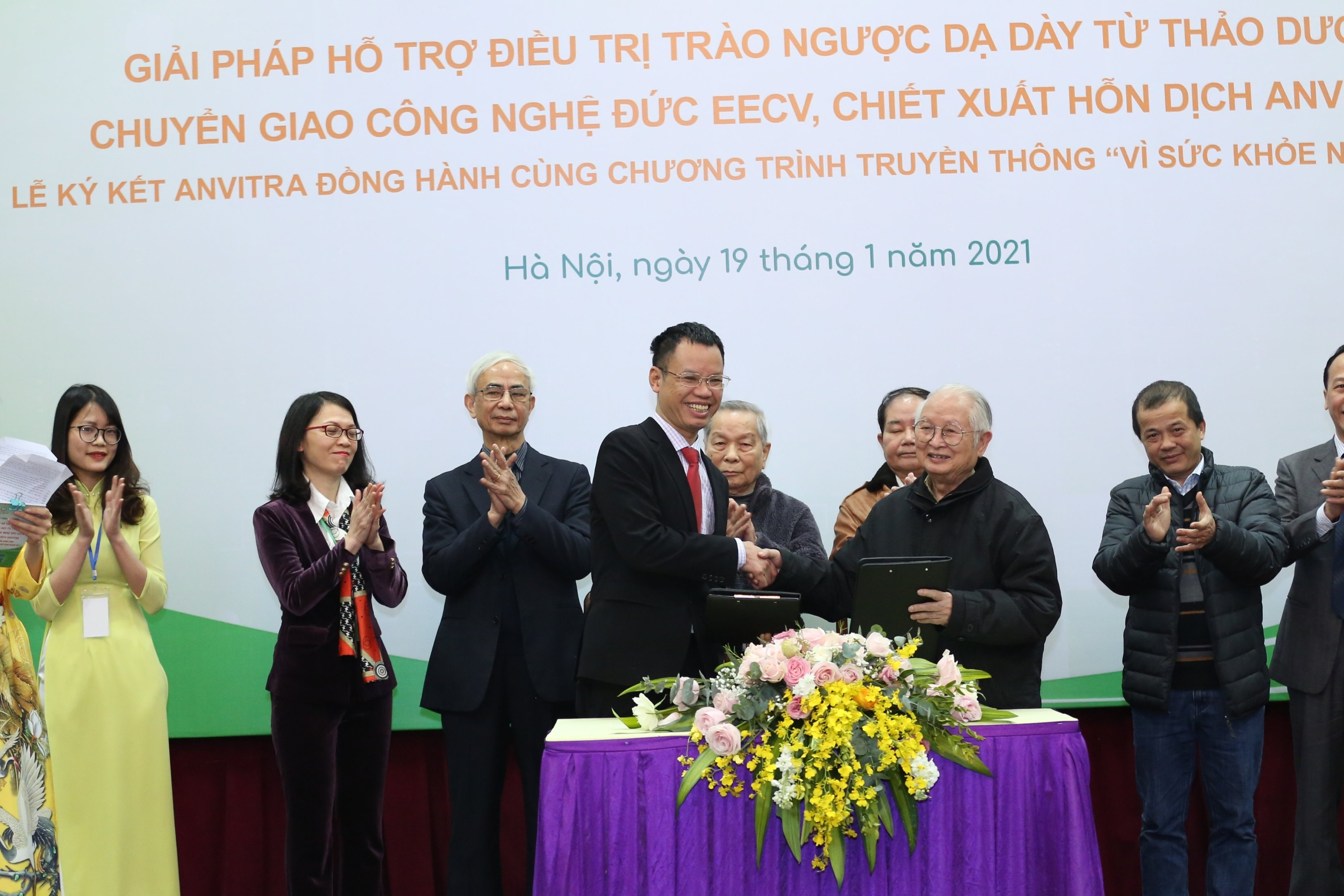 Anvy đồng hành cùng Chương trình 'Vì sức khỏe người Việt'