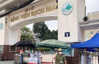 Thêm 1 ca nhiễm mới liên quan đến Bệnh viện Bạch Mai, Việt Nam có 222 bệnh nhân COVID-19