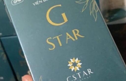 Viên bổ thảo mộc G Star có dấu hiệu của việc sản xuất, kinh doanh làm giả