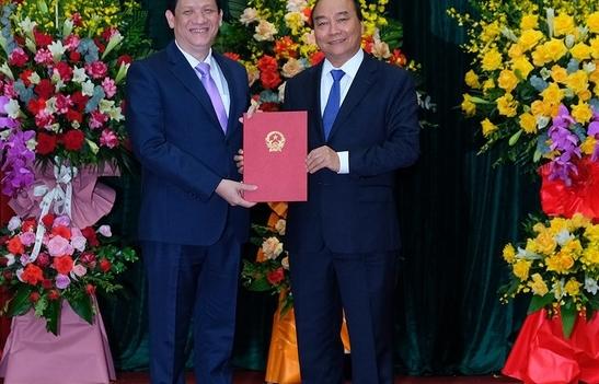Thủ tướng Chính phủ trao quyết định bổ nhiệm Bộ trưởng Bộ Y tế