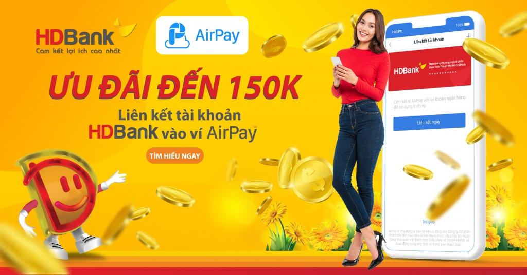 HDBank dành nhiều ưu đãi dành cho khách hàng khi thanh toán trực tuyến