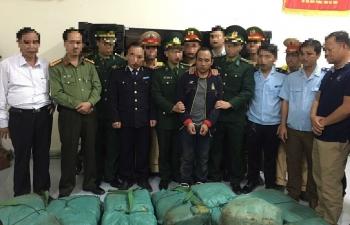 Video: Bắt giữ vụ vận chuyển 294 kg ma túy đá