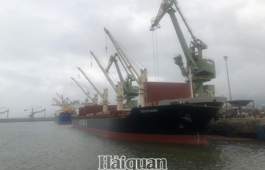 Hà Tĩnh: Thông quan 26 triệu tấn hàng qua cảng biển