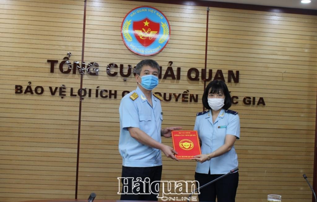 Bà Trần Thị Thúy Hòa giữ chức Phó Vụ trưởng Vụ Pháp chế- Tổng cục Hải quan