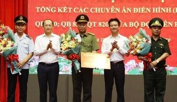 Tổng kết, khen thưởng các lực lượng phá án ma túy tại biên giới miền Trung