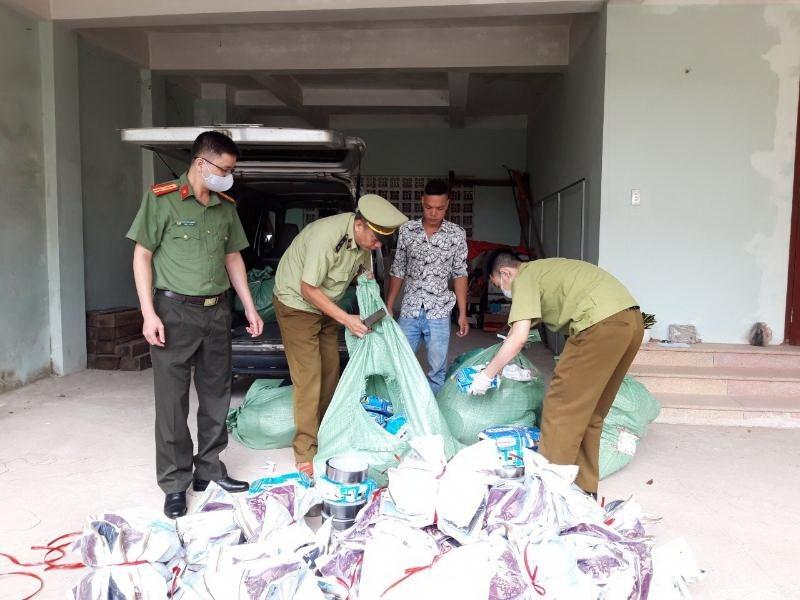 Lạng Sơn: Liên tiếp tạm giữ số lượng lớn hàng gia dụng nhập lậu