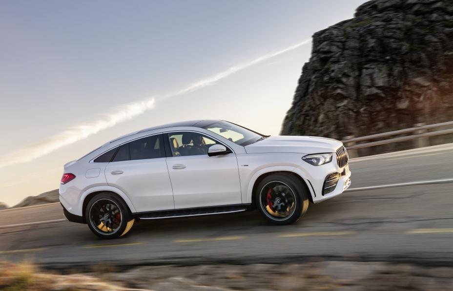 Nhập khẩu nguyên chiếc, nhanh hơn, gợi cảm hơn, Mercedes GLE 53 4MATIC+ Coupé có giá 5,349 tỷ đồng