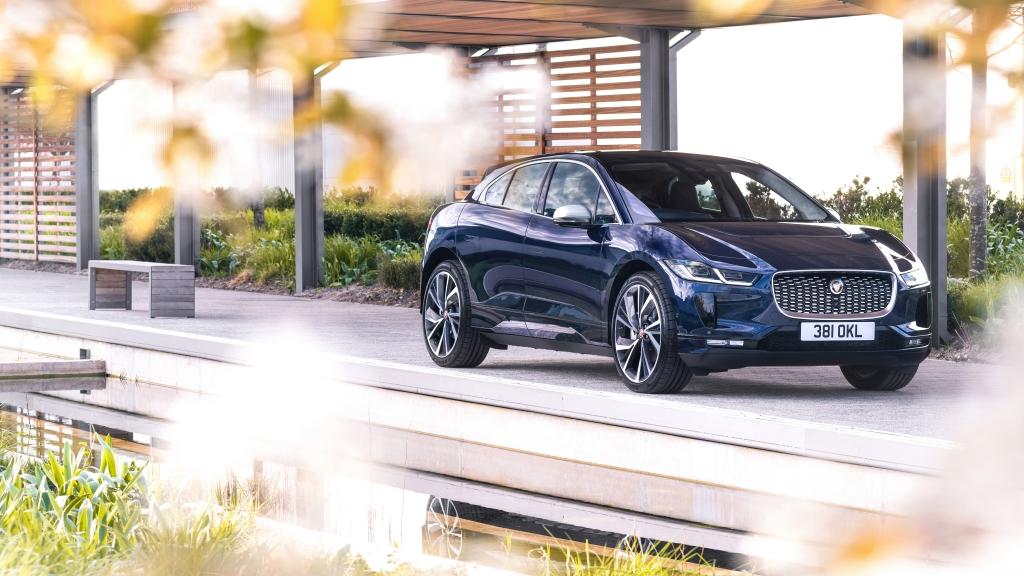 Ngắm nhìn Jaguar  I-PACE màu đen độc đáo
