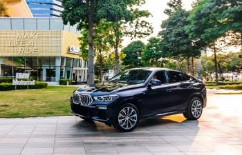 BMW X6 2020: Thiết kế độc đáo tạo phong cách thể thao