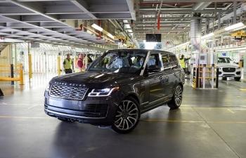 Việc sản xuất xe Jaguar và Land Rover đang dần được khởi động lại