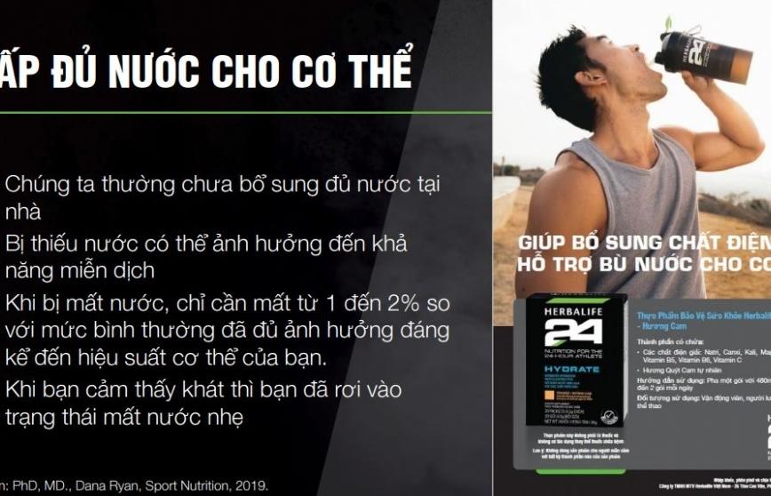 Herbalife Việt Nam cùng Ủy ban Olympic Việt Nam tổ chức huấn luyện dinh dưỡng thể thao trực tuyến