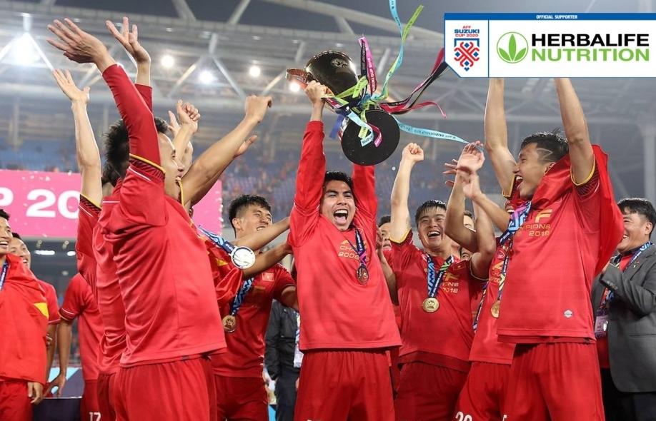 Herbalife Việt Nam là nhà tài trợ đồng hành cùng AFF Suzuki Cup 2020