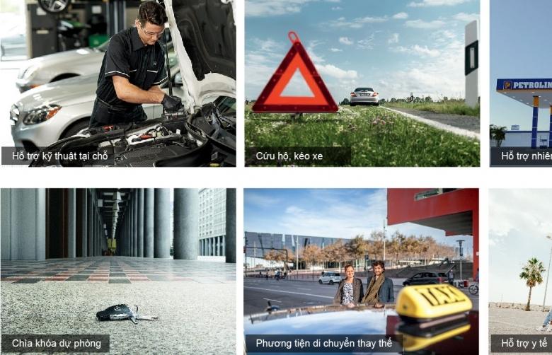 Thương hiệu hạng sang Mercedes-Benz ra mắt dịch vụ hỗ trợ 24H