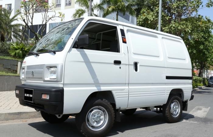 Suzuki Blind Van: Mẫu tải van giải quyết nhanh gọn mọi nhu cầu chở hàng nội đô