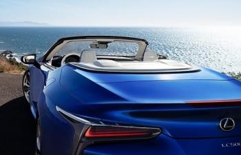 Ngắm vẻ đẹp hút hồn Lexus LC500 phiên bản mui trần