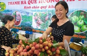 Vải Thanh Hà tiến về Thủ đô, ngon từng quả giá chỉ 40.000 đồng/kg
