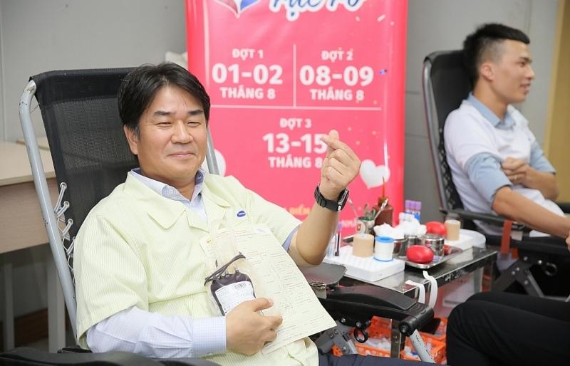 Samsung góp khoảng 17.000 đơn vị máu cho ngân hàng máu Việt