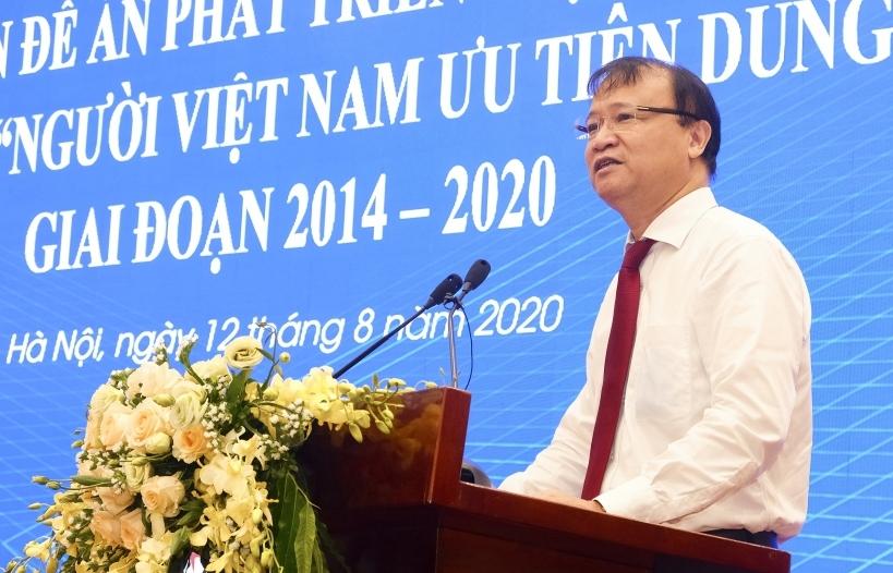 Hàng Việt chiếm trên 90% trong hệ thống siêu thị