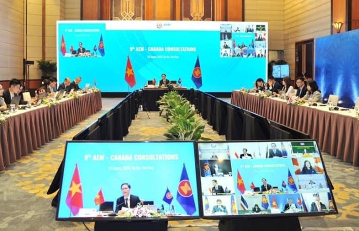 ASEAN-Canada cam kết không áp dụng bảo hộ, chung tay chống Covid-19