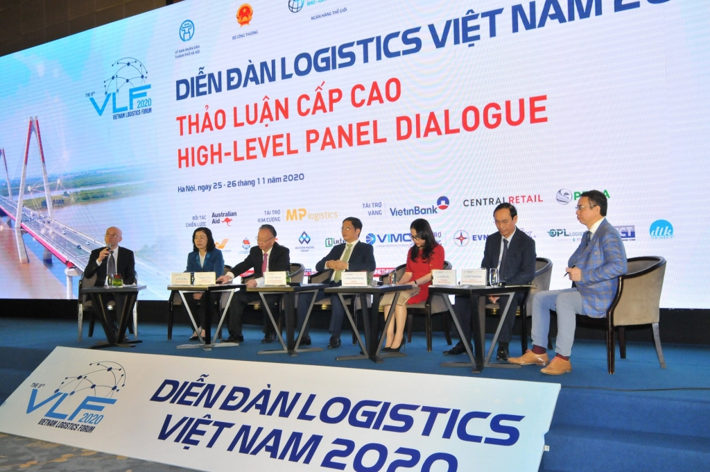 Toàn cảnh tọa đàm cao cấp tại Diễn đàn logistics Việt Nam 2020