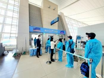 Chuyến bay đầu tiên đón công dân Việt Nam từ Hàn Quốc về nước