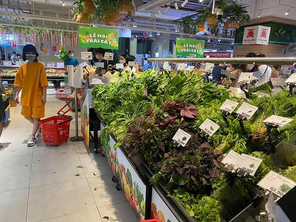 Tổng mức bán lẻ hàng hóa, doanh thu dịch vụ tiêu dùng cả nước tháng 7 giảm gần 8,3%
