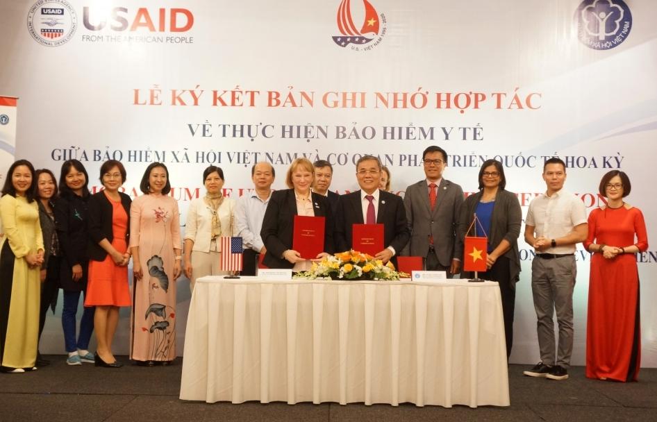 Bảo hiểm xã hội Việt Nam hợp tác cùng USAID
