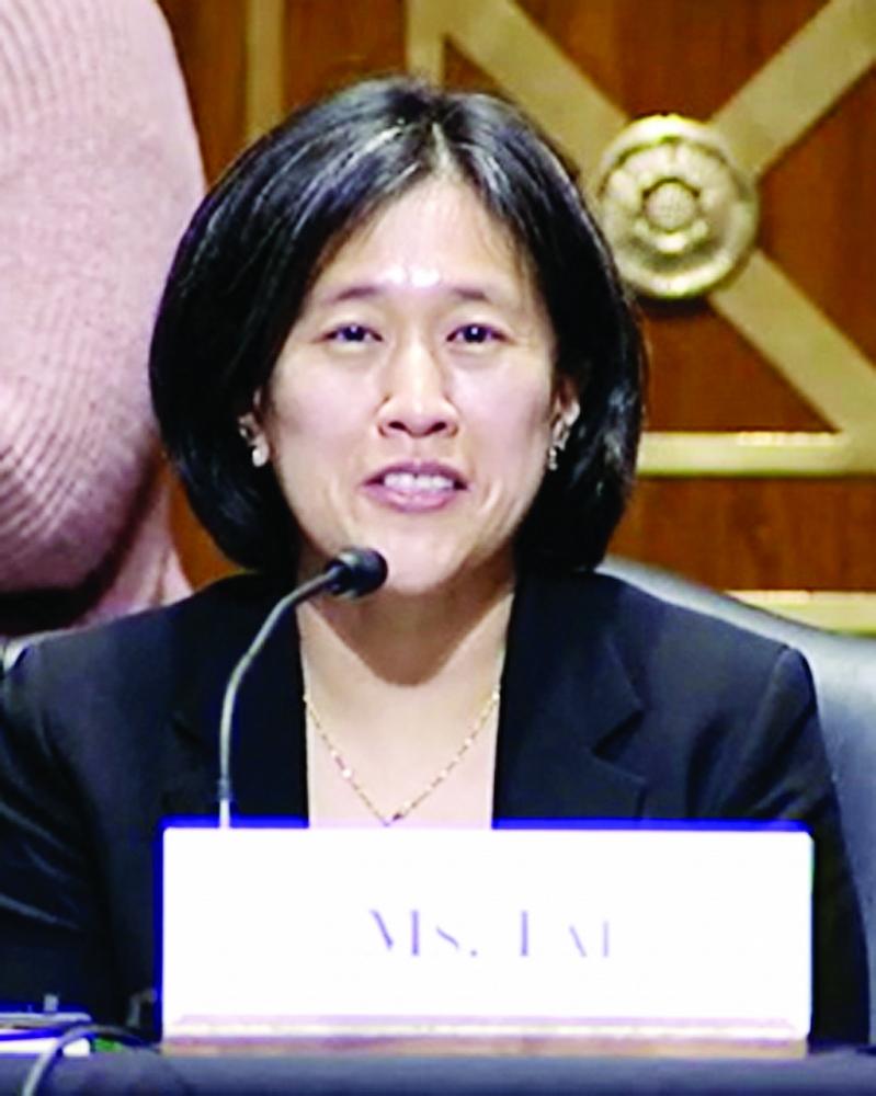 Bà Katherine Tai