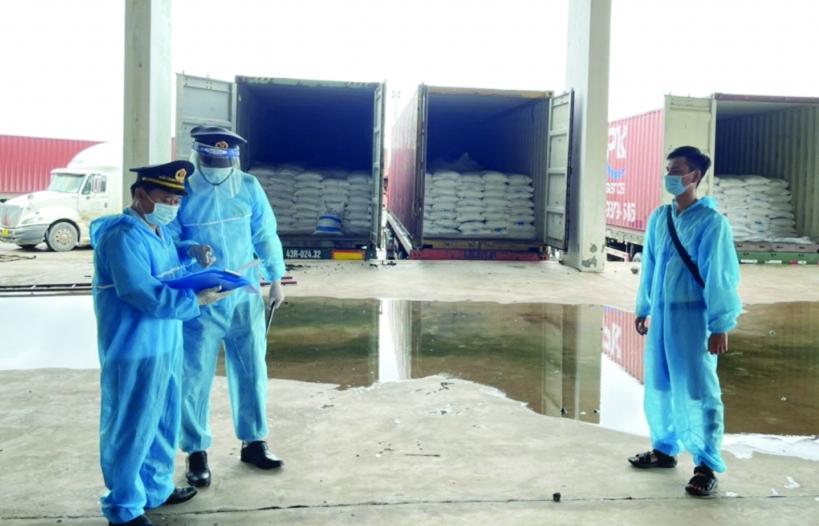 Hải quan Quảng Trị:  Đảm bảo xuất nhập khẩu thông suốt trong dịch bệnh