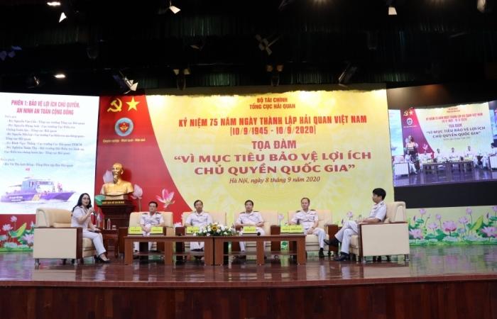 Tổng cục trưởng Tổng cục Hải quan Nguyễn Văn Cẩn tham dự Tọa đàm nhân kỷ niệm 75 năm thành lập Hải quan Việt Nam