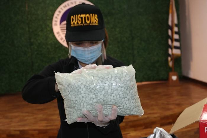 Thuốc lắc giấu trong máy hủy giấy