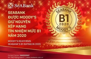 SeABank được Moody's giữ xếp hạng tín nhiệm B1