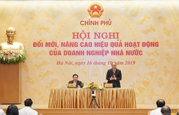 Thủ tướng chủ trì hội nghị đổi mới nâng cao hiệu quả hoạt động doanh nghiệp nhà nước