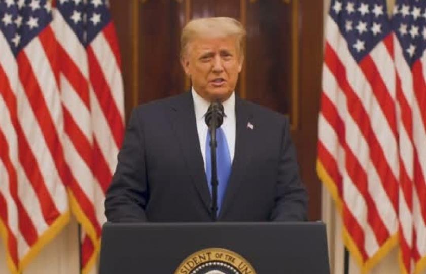Thông điệp rời nhiệm sở của Tổng thống Mỹ Donald Trump