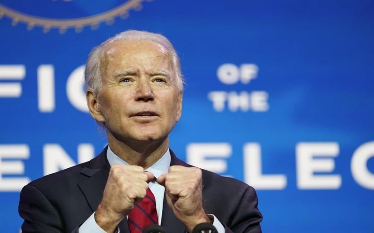 Chính quyền Tổng thống Joe Biden trước sức ép phải cứng rắn với Trung Quốc. Ảnh: AP.